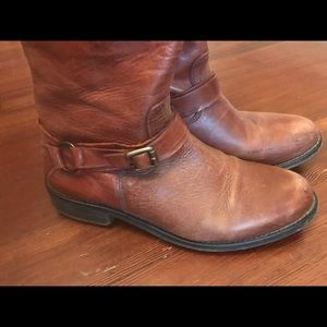 Nordstrom leather brown boots